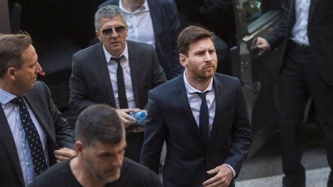Demoraron a Jorge Messi: chocó contra un motociclista