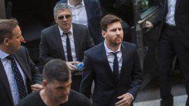 El padre de Messi chocó contra un motociclista y permaneció demorado en una comisaría