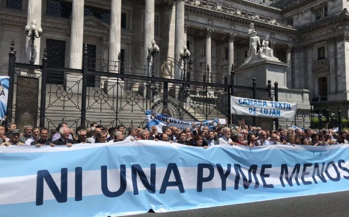 Las entidades que agrupan a las PyMEs se unieron para apoyar el proyecto del Frente de Todos