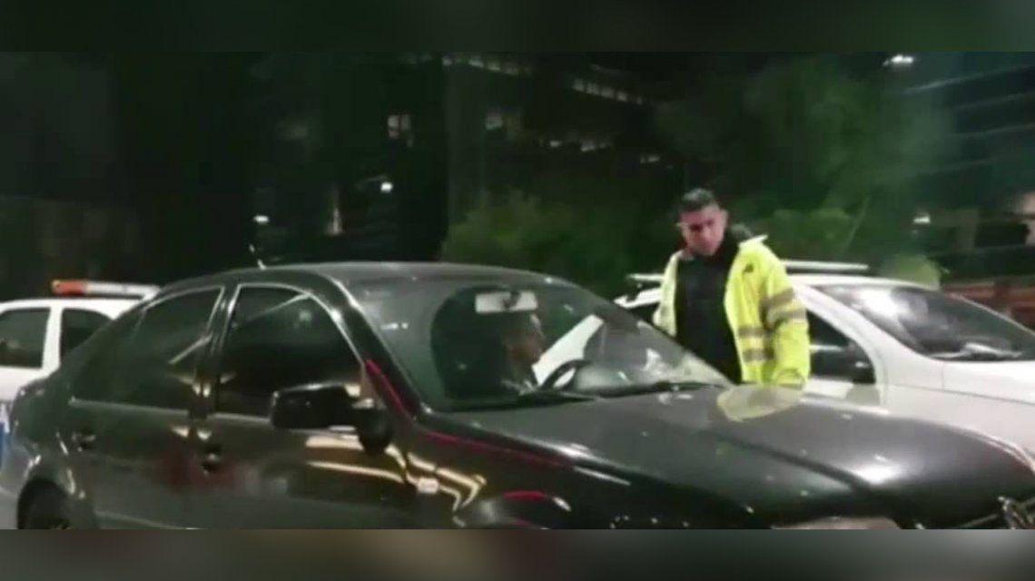 Condenaron al hermano del Turco García por atropellar a un agente de tránsito y darse a la fuga