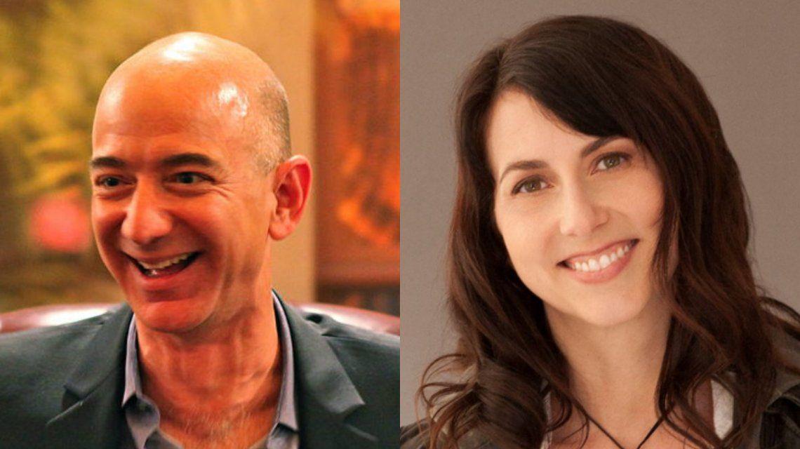El dueño de Amazon se quedó con el 75% de las acciones de la compañía en un divorcio multimillonario