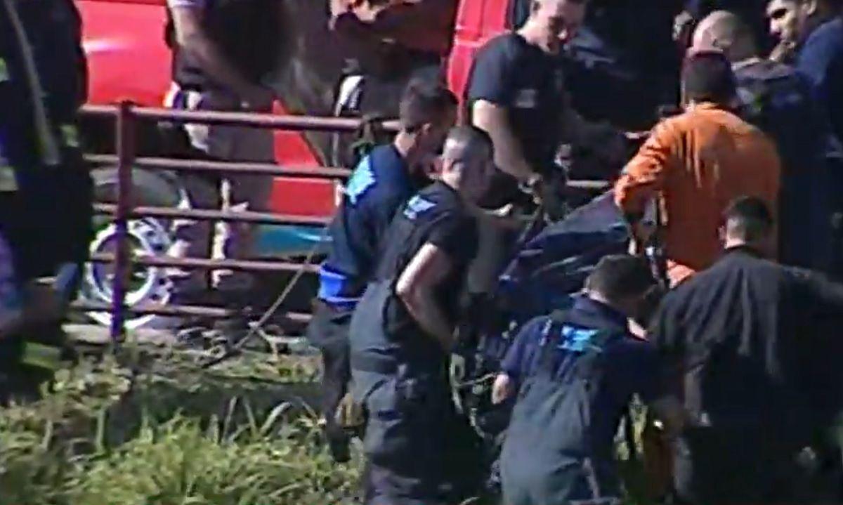 Encontraron un cuerpo cerca de donde un auto cayó al Riachuelo