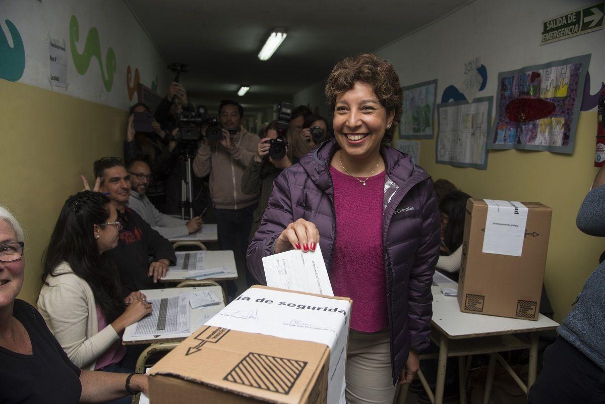 Se impuso Carreras y es la primera gobernadora de Río Negro