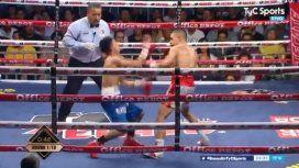 Boxeo: el KO de Agustín Gauto al mexicano Villanueva