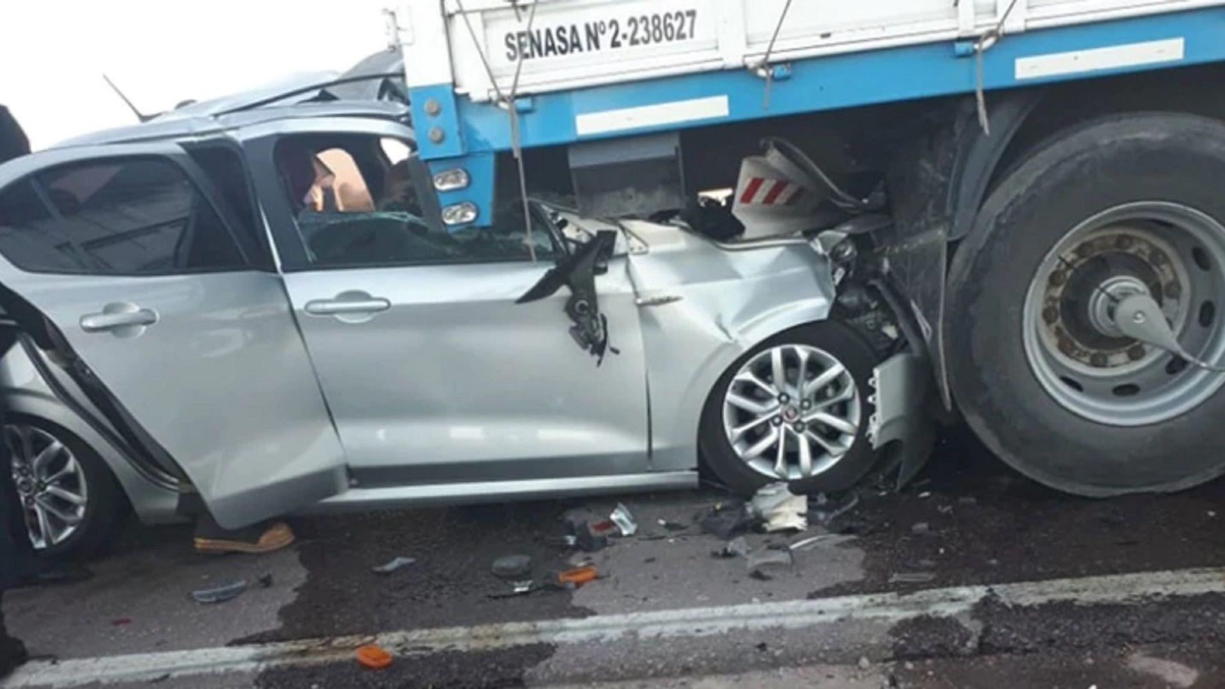 Tragedia en Santiago del Estero: tres docentes murieron en un choque en cadena