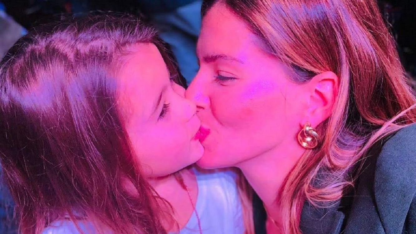 La China Suárez habló de la relación de Laurita Fernández y Rufina Cabré