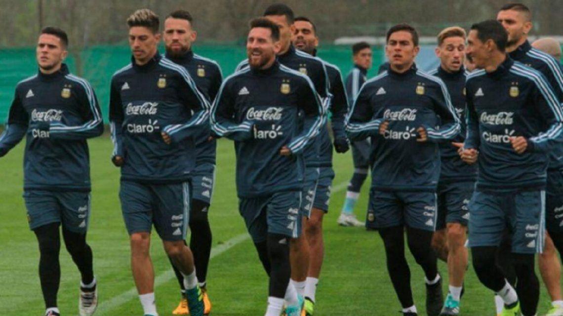 Fabricio Bustos dio detalles de un cruce que tuvo con Messi en la Selección