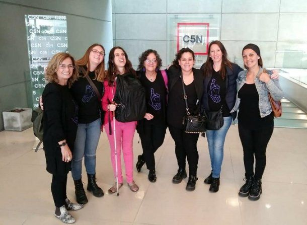 Representantes del Programa Sordas Sin Violencia visitaron C5N