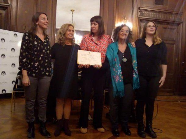 El programa recibió un reconocimiento de la legislatura<div><br></div>