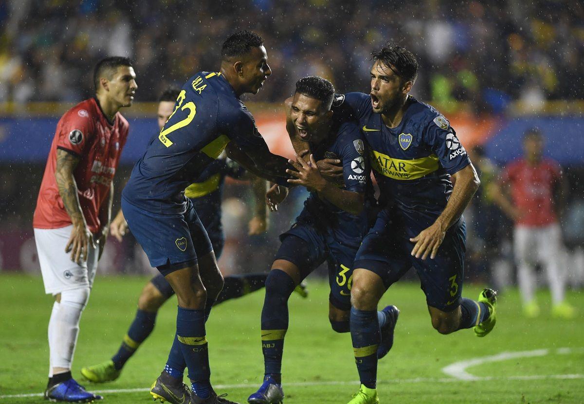 Boca goleó a Jorge Wilstermann y quedó segundo en su grupo de la Libertadores
