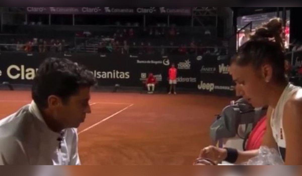 El maltrato de un entrenador a la tenista Sorribes