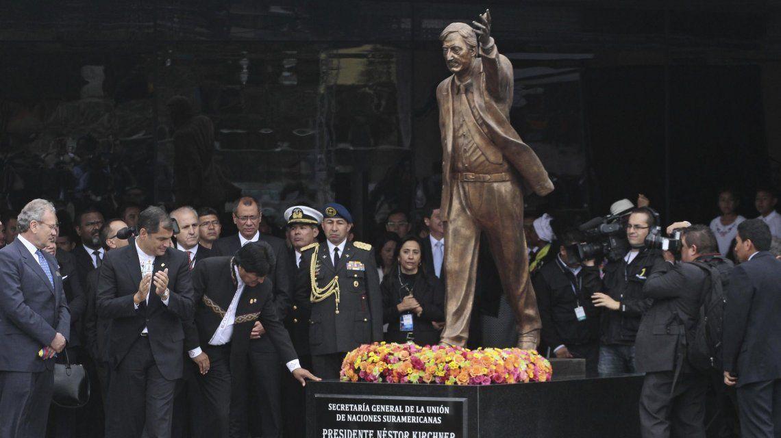 Néstor Kirchner fue el primer secretario general de la Unasur