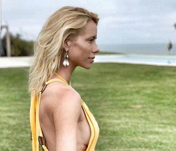 Nicole, una de las modelos que alientan al veganismo.