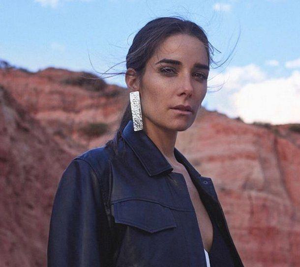 Juana Viale, con un make up despojado para una campaña de moda. Ph: @bycatarain<br>