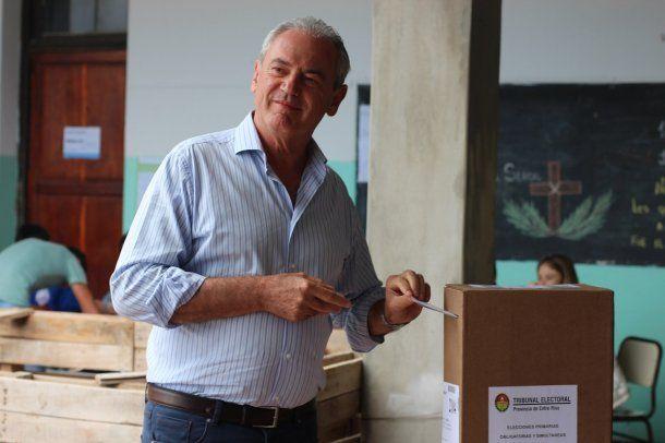 Atilio Benedetti, candidato a gobernador de Entre Ríos por Cambiemos<br>
