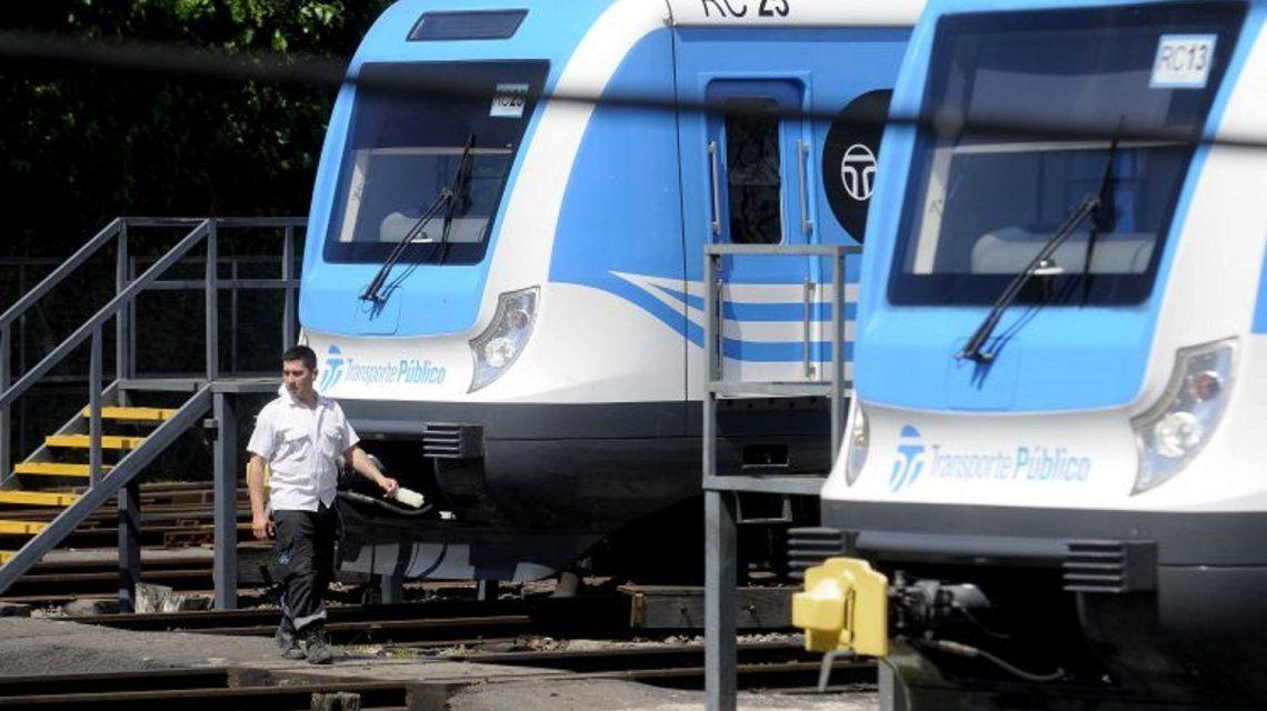 Los trabajadores del tren Sarmiento se sumarían al paro del 30 de abril