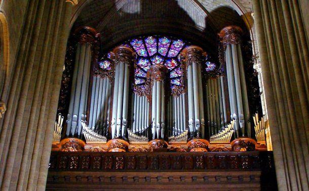 El órgano de Notre Dame, una obra de Aristide Cavaillé-Coll