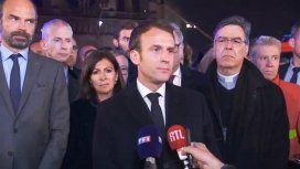 Macron prometió reconstruir Notre Dame en cinco años tras recaudar 650 millones de euros