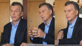 Un PDF y un video casero: así anunció Macri su paquete de medidas económicas