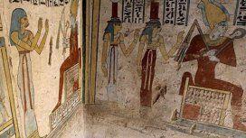Descubren una pequeña tumba de un noble egipcio con increíbles tesoros