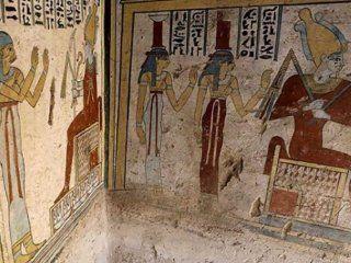 descubren una pequena tumba de un noble egipcio con increibles tesoros