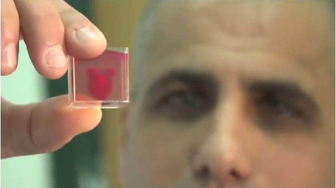Crearon el primer corazón 3D con tejido humano