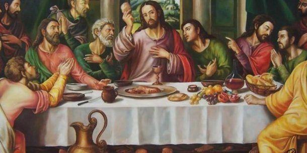 Última Cena de Jesús con sus apóstoles