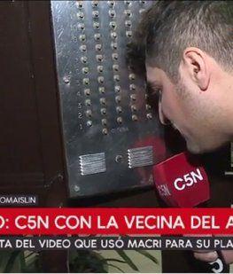 ¿Qué dijo la vecina a la que Macri visitó tras anunciar el plan parche?