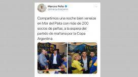 El community manager de Marcos Peña se confundió de cliente