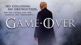 El festejo épico de Trump tras librarse del Russiagate: no le probaron nada