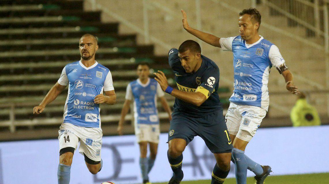 Con el muletto, Boca le ganó a Estudiantes de Río Cuarto