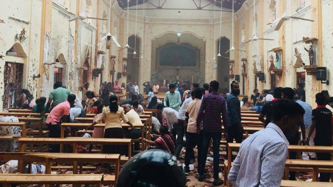 Sri Lanka: al menos 185 muertos y 470 heridos en varias explosiones