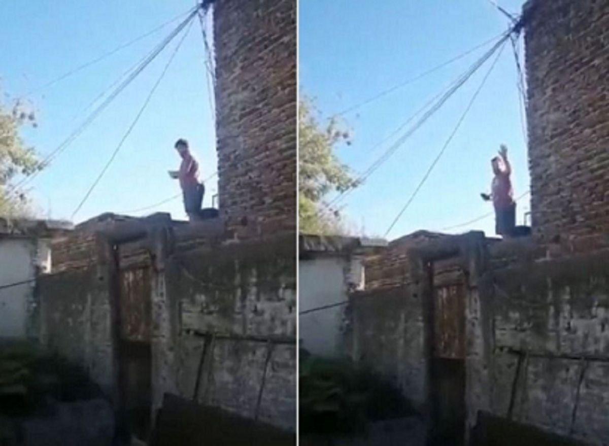 La Plata: detuvieron a un hombre que bailaba en el techo y amenazaba a sus vecinos