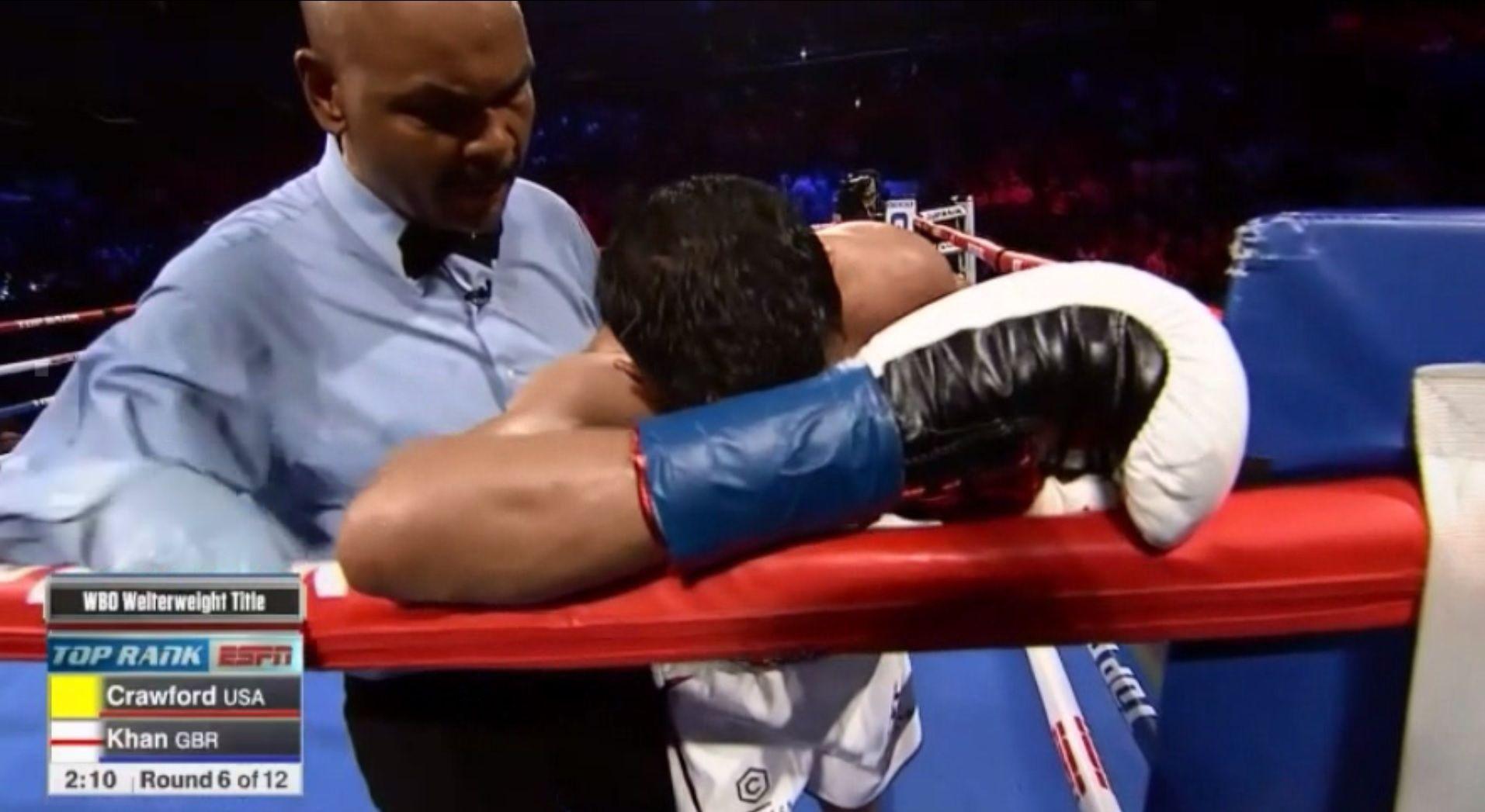 Boxeo: el KO y el supuesto golpe bajo de Terrence Crawford contra Amir Khan