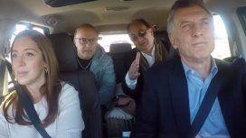 El intendente fue multado por no usar cinturón de seguridad en un viaje con Macri y Vidal