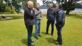 Macri, junto a gobernadores en Villa La Angostura