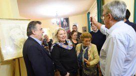 Elisa Carrió estuvo con Mario Negri en Cruz del Eje