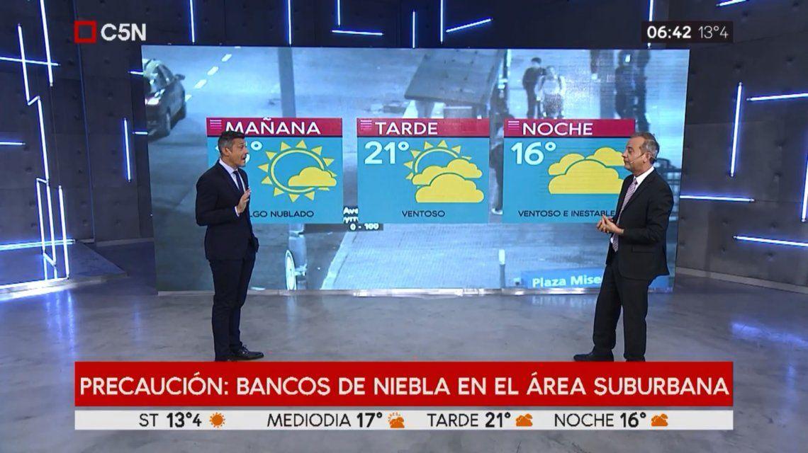 Pronóstico del tiempo del miércoles 24 de abril de 2019