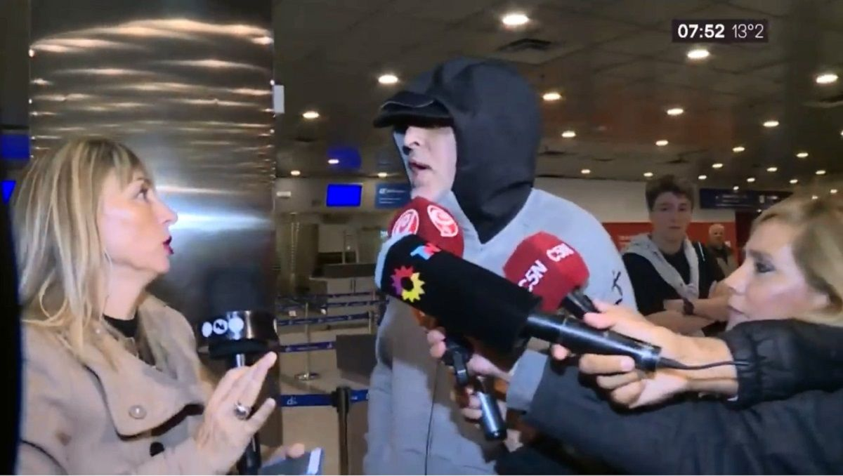 Rafa Di Zeo luego de ser deportado: Saltó un alerta roja como si fuera un terrorista