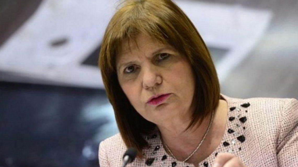 Piden el juicio político a Patricia Bullrich por mal desempeño en sus funciones