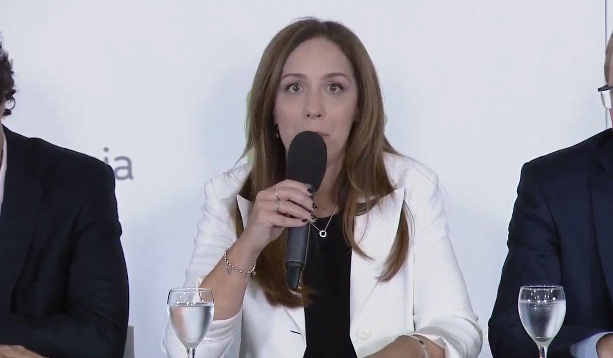 En medio de la crisis de Macri, Vidal lanzó su propio paquete de medidas económicas