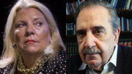 Carrió quiso homenajear a Raúl Alfonsín y le recordaron con un audio lo que él decía de ella: Es una hipócrita
