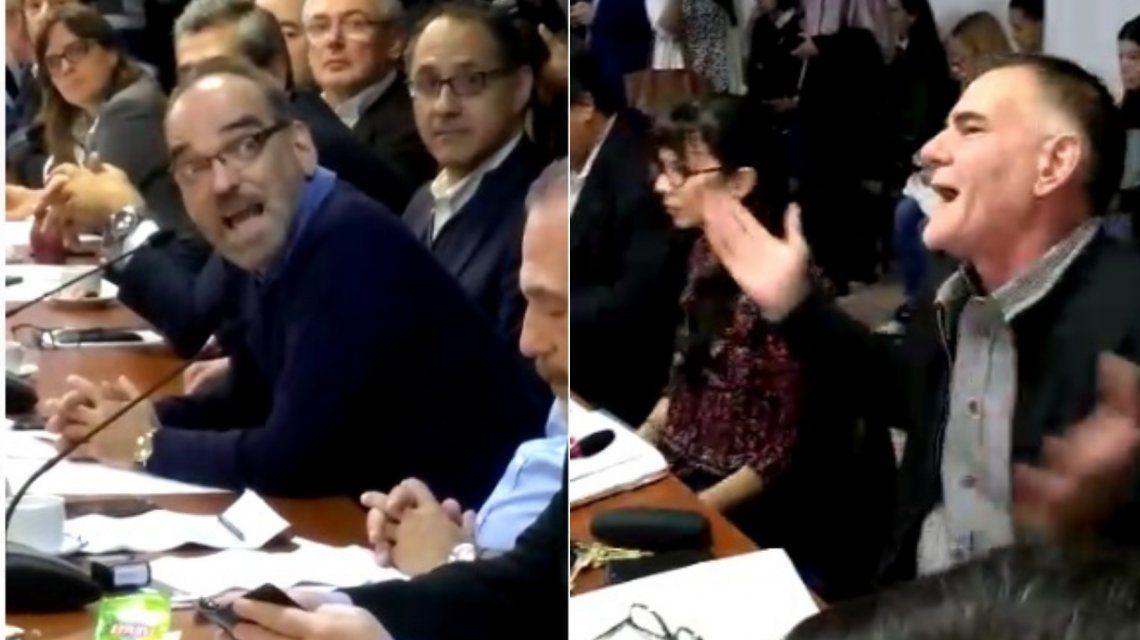 Escándalo en Diputados: Fernando Iglesias se burló de María Emilia Soria y Castagneto lo increpó
