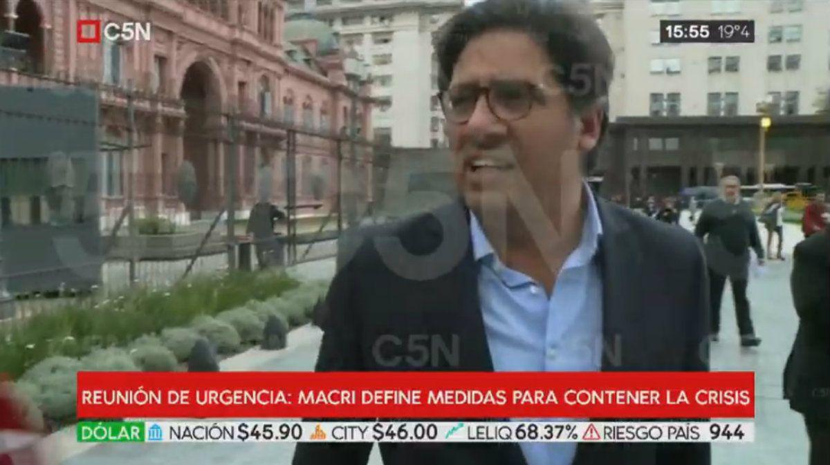 Garavano tras la reunión de urgencia en Casa Rosada: Macri será candidato, no se alteró nada