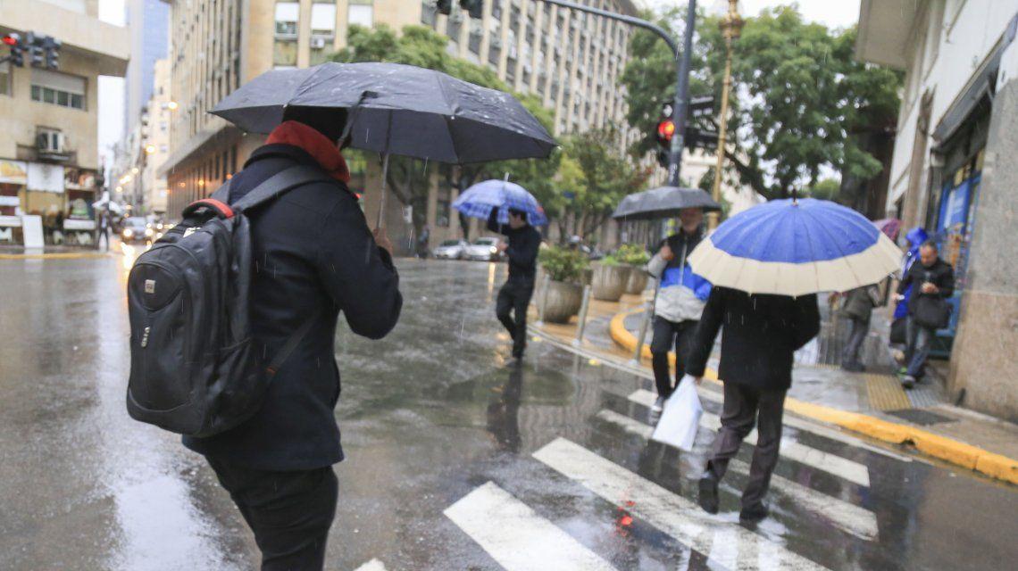 Alerta meteorológico: viento con ráfagas y temporal para la Ciudad y el Conurbano