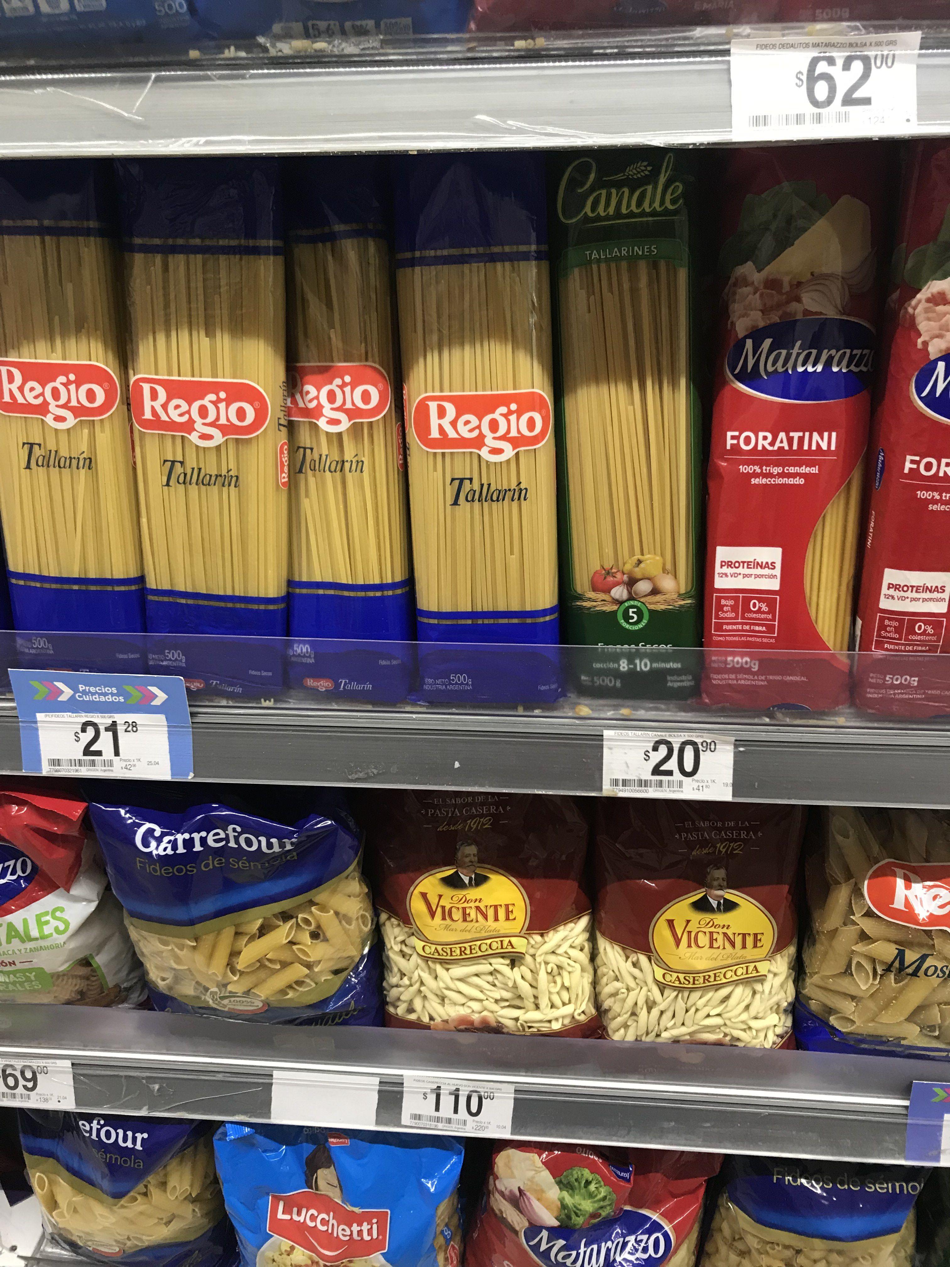 Hay Productos Esenciales que están más caros que algunas marcas propias de los súper