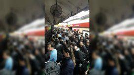 Incidente en la línea B de Subte: el servicio está limitado entre Rosas y Medrano