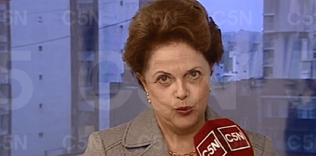 Dilma Rousseff mano a mano con C5N