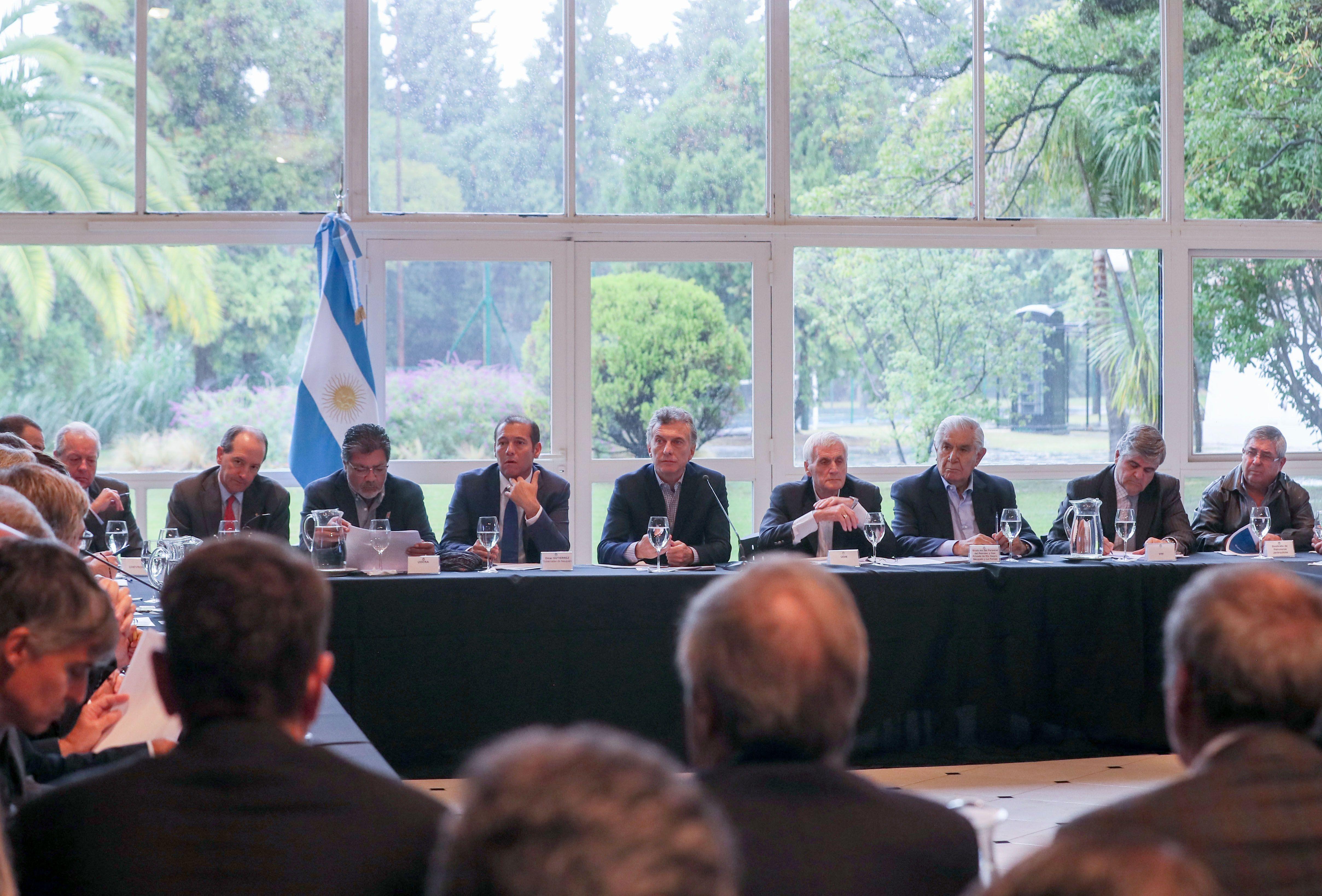 Mauricio Macri en Olivos