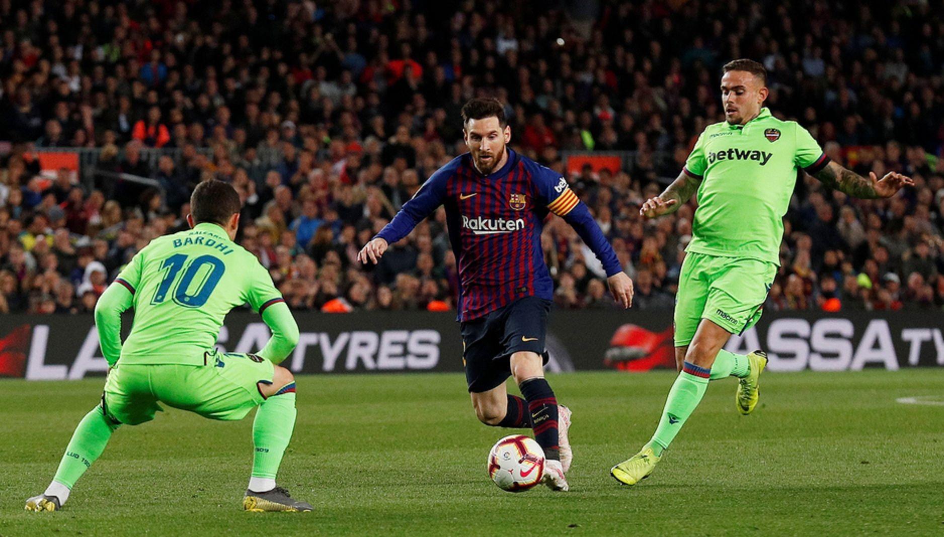 De la mano de Messi, Barcelona es otra vez campeón de la Liga española